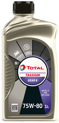 Total Transmission Gear 8 75W80 Manual Gear Box Oil - 1 Litre