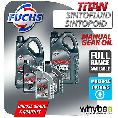 Fuchs Titan Sintofluid Sintopoid Manual Gearbox Transmission Gear Oil All Types