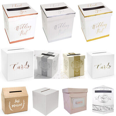 Wedding Card Post Box, Receiving Boxes, Anniversary or Birthday Party
