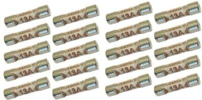 (Ten) 10x 13 Amp Domestic Mains Fuse CE compliant BS1362 plugtop type - FREE P+P