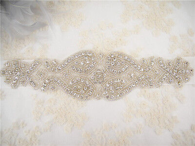 Stunning Ivory Wedding Sash, Crystal Bridal Belt, Wedding Accessories, Waistband