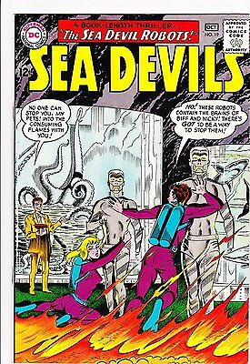 Sea Devils #19   9.0Vf/nm   One Owner!!  Nice Pages!!   Take A Look!!