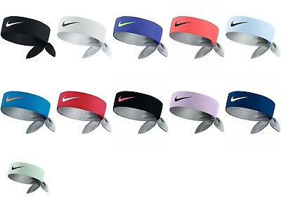 Brand *NEW* w/Tags NIKE DRI-FIT HEADBANDS Head Tie Bandana Nadal Federer Serena