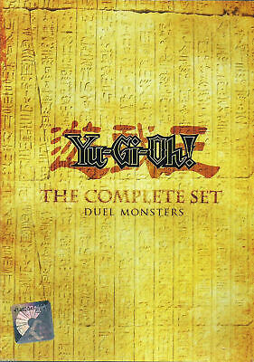 Anime DVD Yu Gi Oh! Duel Monster (1-224) Season 1+2+3+4+5 Complete ENGLISH AUDIO