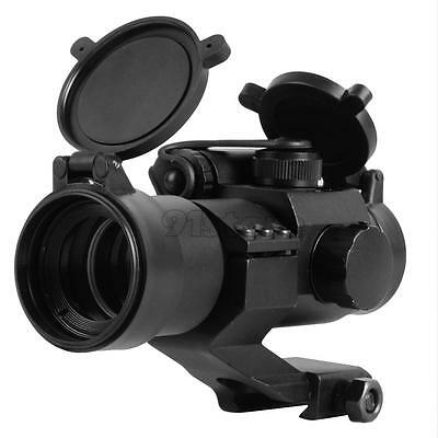 Tactical Holographic 1x Reflex Red/Green Dot Sight Scope Picatinny Rail M2 SR1G