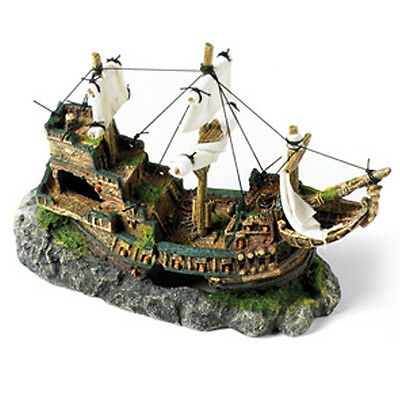 Classic Galleon with Sails - 13 inch