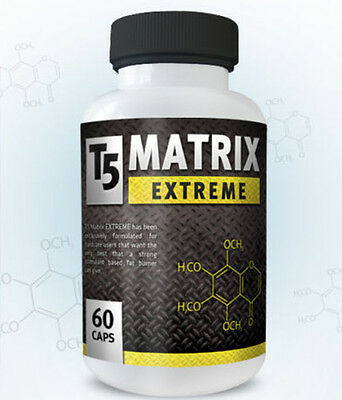 T5 Matrix Extreme Fat Burners Strong & Fast Fat Burner Pills