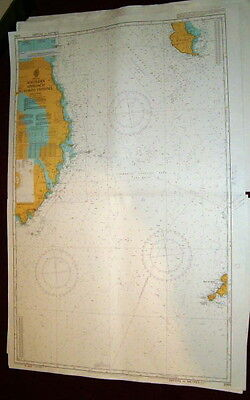 VALID Admiralty Chart 2093 IRISH SEA - SOUTHERN APPROACH TO NORTH CHANNEL 2003