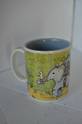 Tuskers African Elephant Coffee Mug Cup