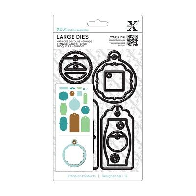 Xcut Large Everyday Gift Tag Dies XCU503200