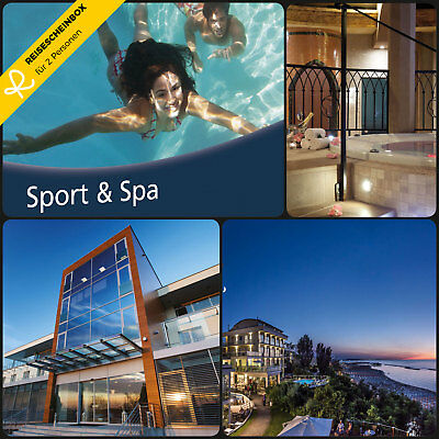 3 Days Sports & Spa for 2 In Over 130 Hotels Short Trip Voucher Vacation Holiday