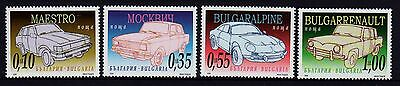 Bulgaria 2006 Cars Set 4 MNH