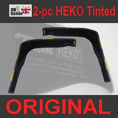 FORD TRANSIT CONNECT 2002-2013 2-pc Wind Deflectors HEKO Tinted