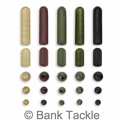 Buffer Beads Rubber Shock Rig Beads 4mm 6mm 8mm 12mm 25mm Carp Fishing Tackle