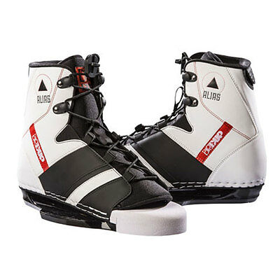 2015 Double Up Alias Open Toe Wakeboard Bindings , Wake, Cable Etc