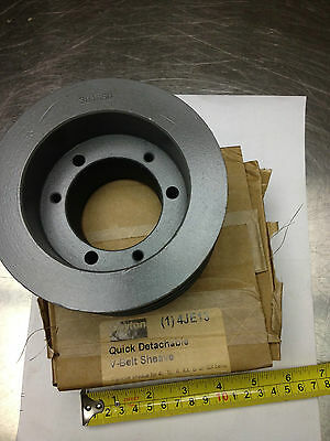 "3B46SD Dayton V-Belt Pulley, Detachable, 3Groove, 4.95""OD, 4JE13, SD Bushing Req"