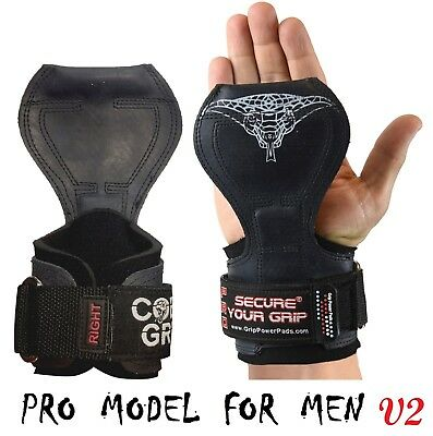 Cobra Grips PRO Weight Lifting Straps Power Lifting Grip Pad Versa Gloves Wraps