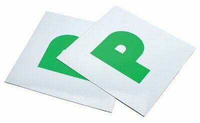 Magnetic Pk of 2 P Plates-Passed Test, New Driver, Secure, Easy to Use, Free P&P