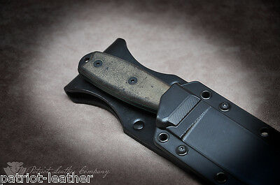 Esee-3 'The Freedom' Custom Build Leather Sheath Backer