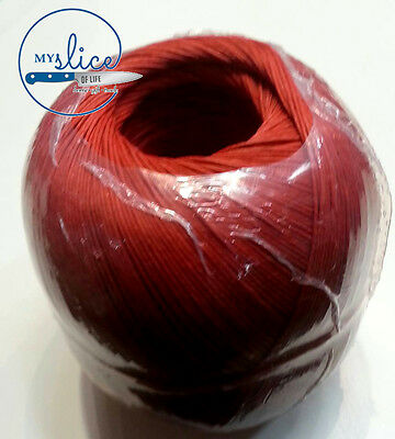 Salami / Sausage / Household Cotton Twine Approx. 360gms/330metres - Red Roll