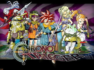 "030 Chrono Trigger Role Playing Video Game 29/""x14/"" Poster"