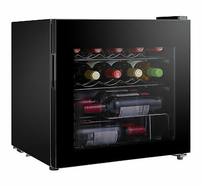 LEC DF50B Wine, Beer & Drinks Fridge in Black - 444442763 Husky / Frostbite
