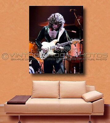 Ritchie Blackmore Deep Purple Poster Photo 30x40 in Live 70's Concert Print L12