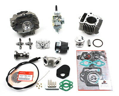 HONDA PASSPORT C70 1970-1981 88cc BIG BORE CYLINDER PISTON  HEAD CARBURETOR KIT