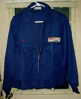 1960's Pepsi-Cola Driver's Jacket - Size 42 Medium