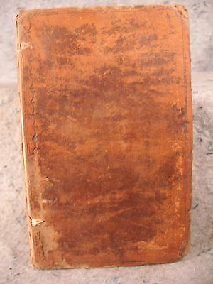 rare antique old leather book 1779 Aesopian Fables Phaedrus english latin