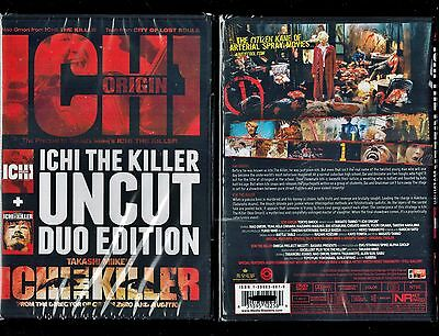 Ichi The Killer & Ichi Origin - Uncut 2-Disc Duo Edition - Rare, Hard To Find