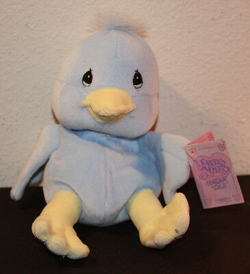 Limited Edition 1997 Precious Moments Tender Tails Blue Duck by Enesco Excellent