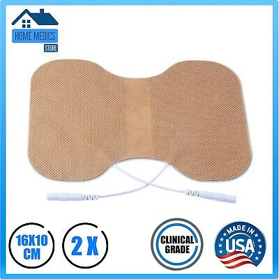 Tens Machine Pads/ Extra Large (16X10 cm) Tens Machine Pads for Lower Back Pain