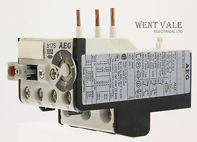 AEG B17S-910-341-933-00 - 20a Thermal Overload Relay 5 - 7a New In Box