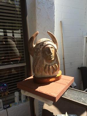 "Native American Sculpture  ""Shaman"" by Roy Walters...Excellent condition!!"
