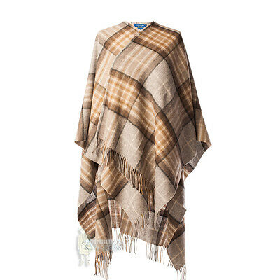 Edinburgh - Soft & Warm Lambswool Full-Size Ladies Cape - Mackellar
