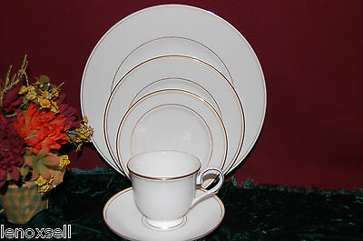 Lenox Federal Gold 5 Piece Place Setting USA New in Box 100191602