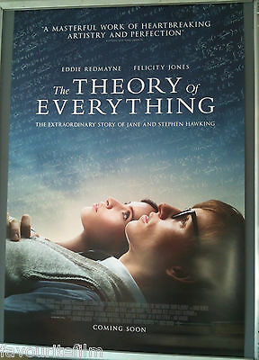 Cinema Poster: THEORY OF EVERYTHING, THE 2015 (One Sheet) Eddie Redmayne