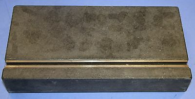 """(1) Used Scholte Granite Inspection Plate Equipment With T Slot Overall: 12"""" X 6"""