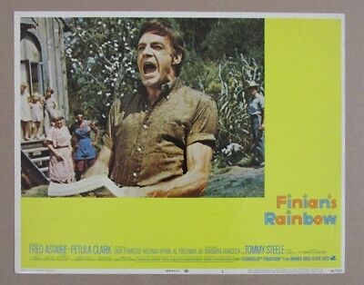 FINIAN'S RAINBOW MOVIE POSTER LOBBY CARD #1 1968 ORIGINAL 11x14 FRED ASTAIRE