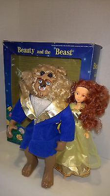 Disney Beauty and The Beast Poseable Figures / Doll Arms Legs Head Move w Box