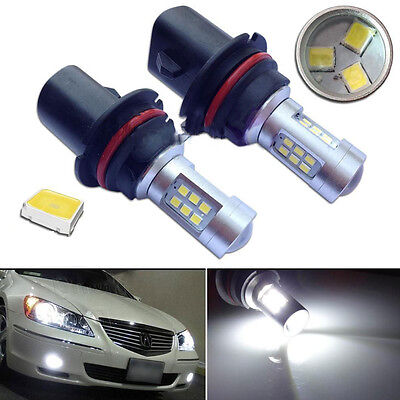 2pcs HID White High Power 9004 HB1 Headlight Low Beam Headlamp LED Bulbs  HS
