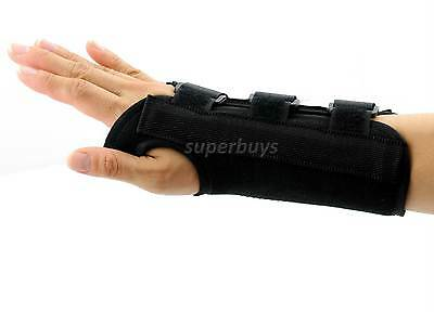 Left Small Wrist Brace Support Splint Carpal Tunnel Syndrome Sprain Strain T2M