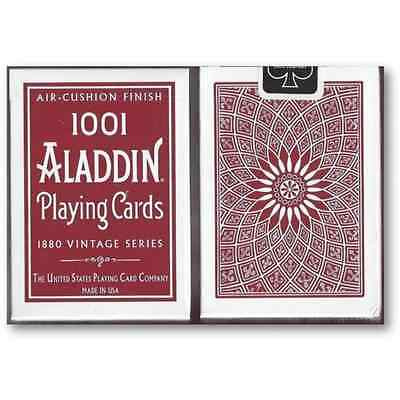 Aladdin 1001 Playing Cards 1880 Vintage Series Red Deck Bicycle NEW