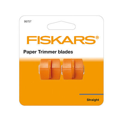 Fiskars Paper Trimmer Blades TripleTrack Straight Cutting 9675T