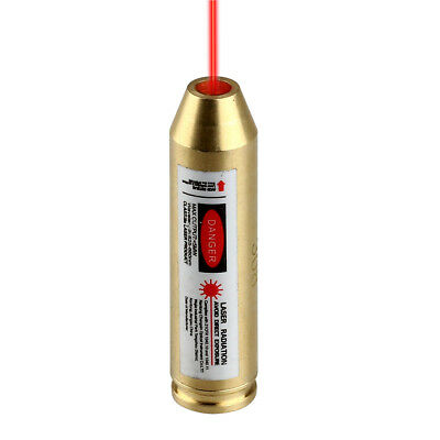 Red Laser 308 243 Cartridge Boresighter Bore Sighter Sight Brass for Rifle Scope