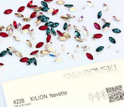 Many Sizes Genuine SWAROVSKI 3008 Classic Buttons Crystal Color Foiled 4 Holes