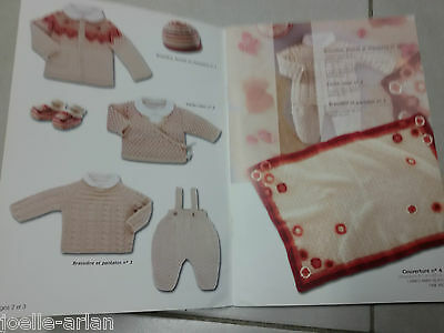 Catalogue tricot  bouton d'or  layette et enfants / n° 17 H