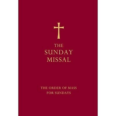 The Sunday Missal (Red Edition)Collins HB 9780007456284
