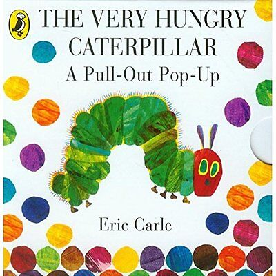 The Very Hungry Caterpillar Pull-out Pop-up Carle Puffin Books HB 9780141352220
